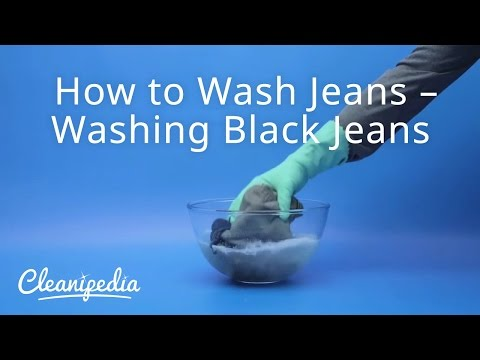 How to Wash Jeans – Washing Black Jeans