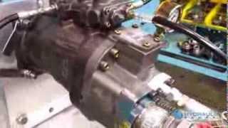 Testing a Hitachi HPV145 Hydraulic Pump