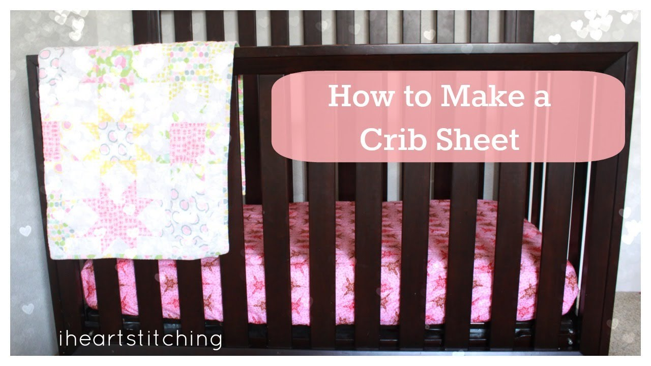 How To Make A Crib Sheet Youtube Find The Best Deal Fold Fitted Sheets Diagram Right Now