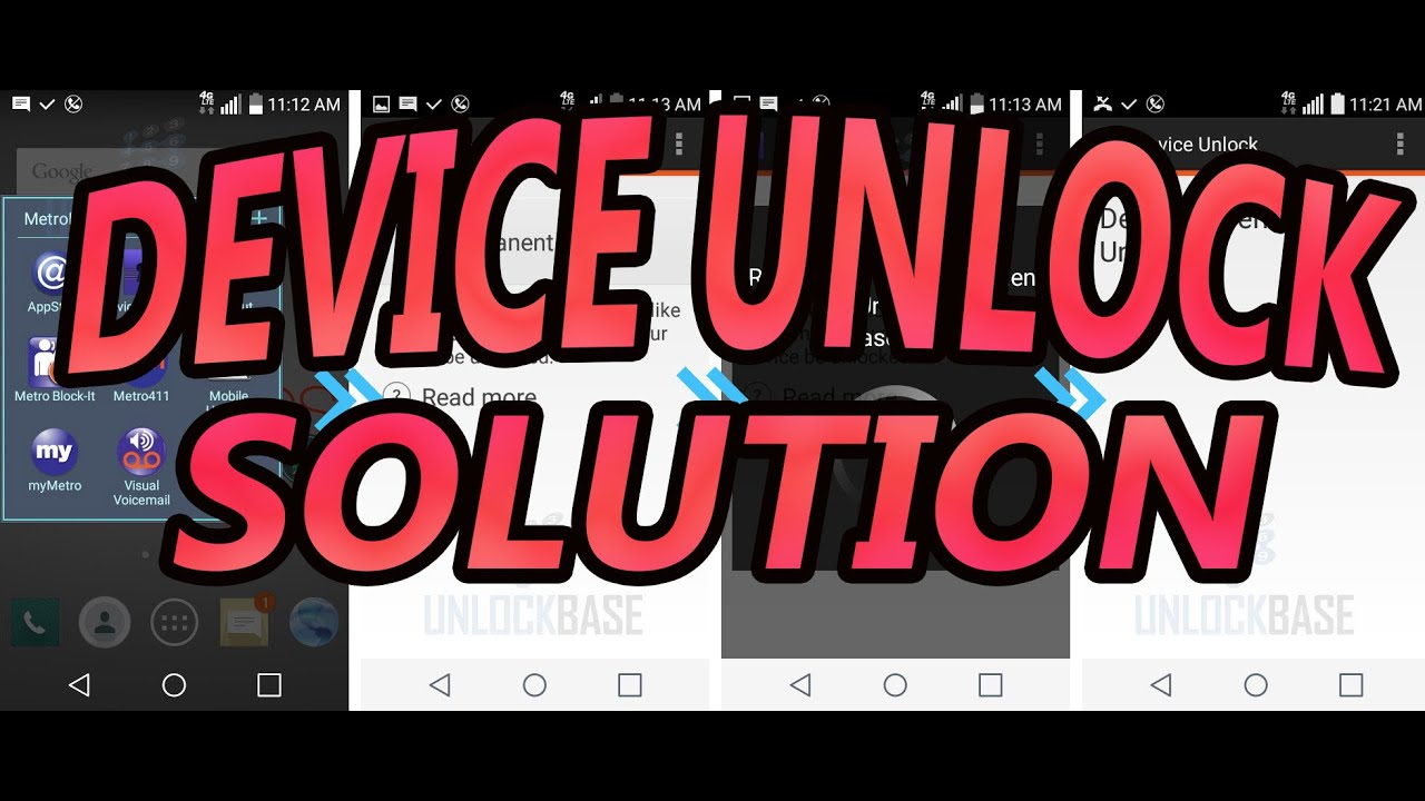 TMOBILE METROPCS DEVICE UNLOCK APP SOLUTION