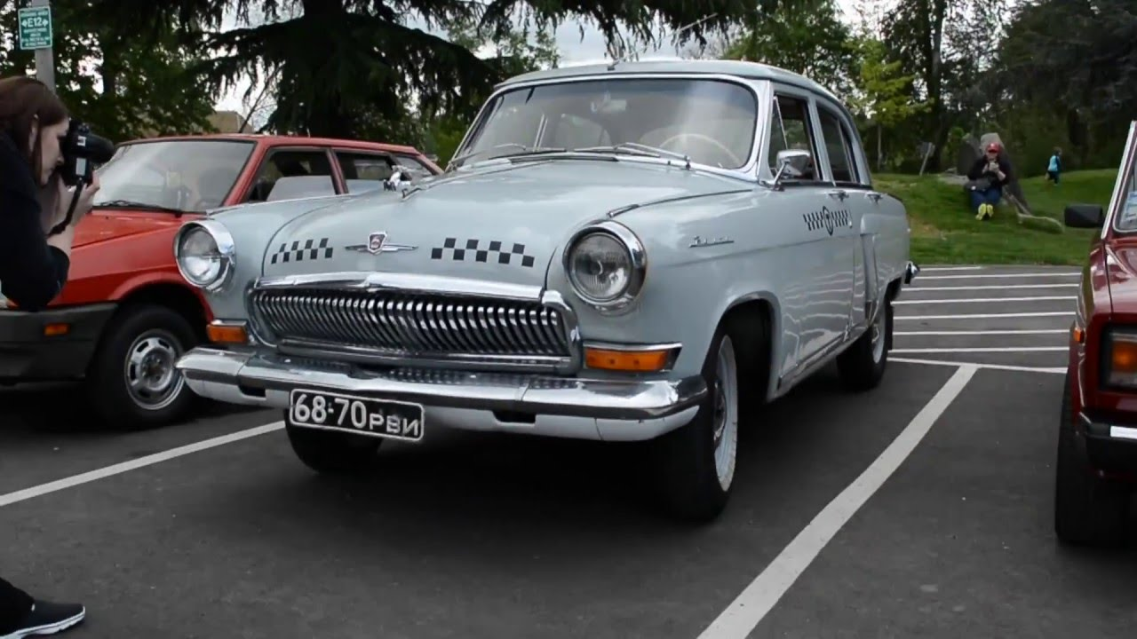 Soviet Classic Car Show in USA, Seattle WA - YouTube
