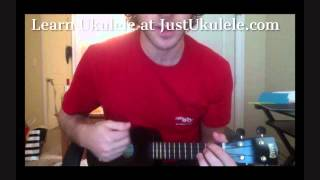 How To Save A Life The Fray Ukulele Lesson