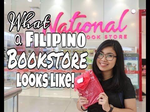 WHAT A FILIPINO BOOKSTORE LOOKS LIKE | Vlog + Book Haul
