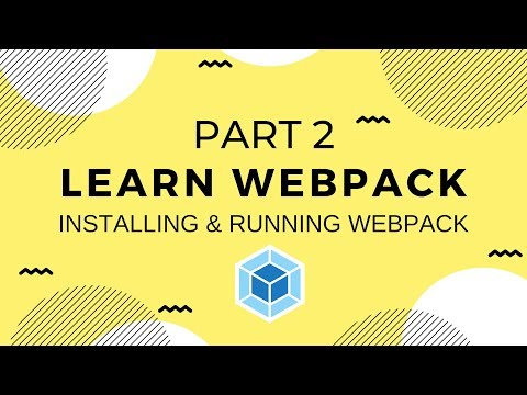 Learn Webpack Pt. 2: Installing And Running Webpack And Webpack-CLI