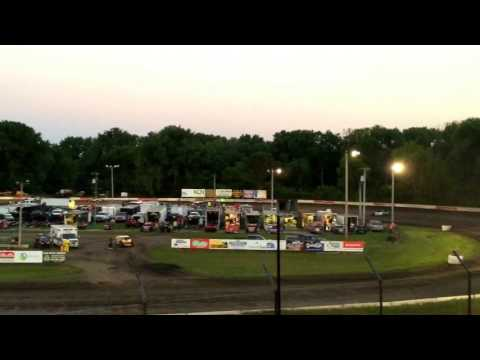 Hamilton County Speedway 7-15-17 Stock Car Feature