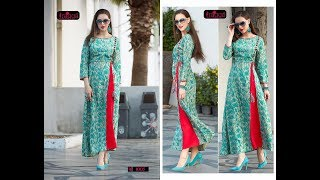 LAXY NEW ARRIVAL RAYON WINTER WEAR KURTIS COLLECTION