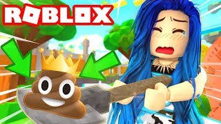 I FIND THE KING OF ALL POOPS! ROBLOX POOP SCOOPER SIMULATOR!