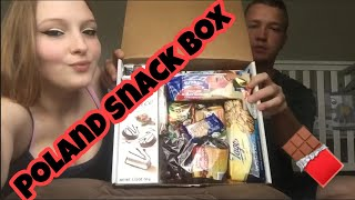 AMERICANS TRY SNACKS FROM POLAND 🇵🇱👀