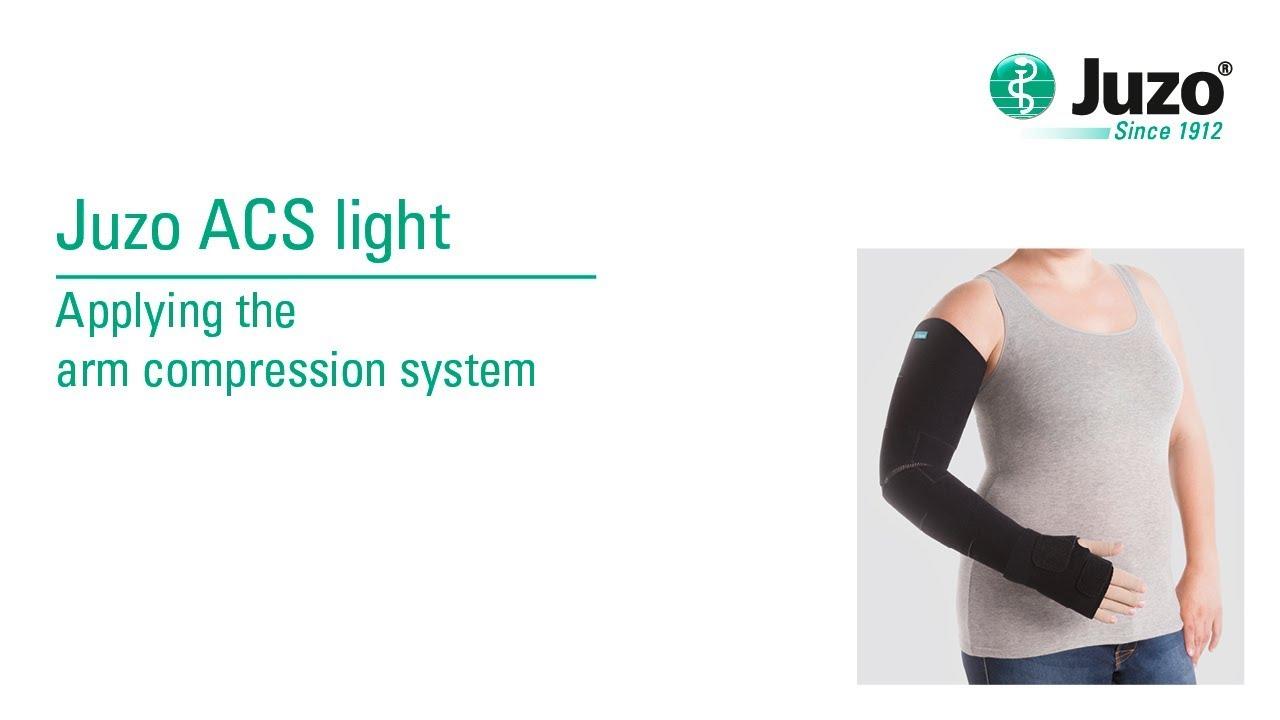 5d1cb711d7 Applying the arm compression system – Juzo ACS light - YouTube