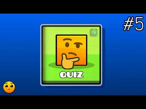 GEOMETRY DASH QUIZ #5   Partition : What is your Score? (Hard) # Feat : SubZero / Quiz is Back!