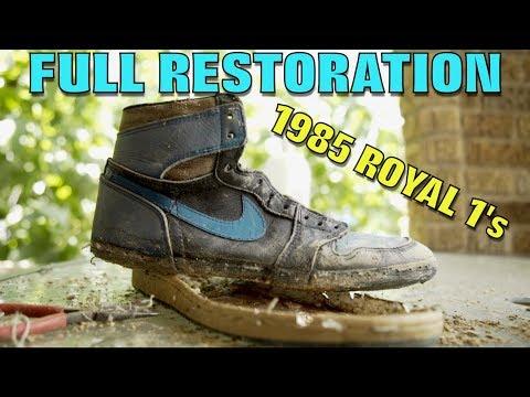 OG 1985 ROYAL 1s FULL RESTORATION! (TRASH TREASURE)