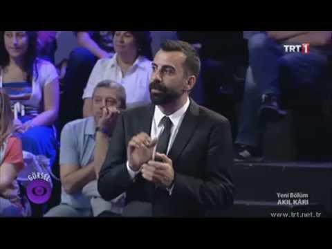 Ali Özen TRT 1 Akıl Karı Yarışmasında