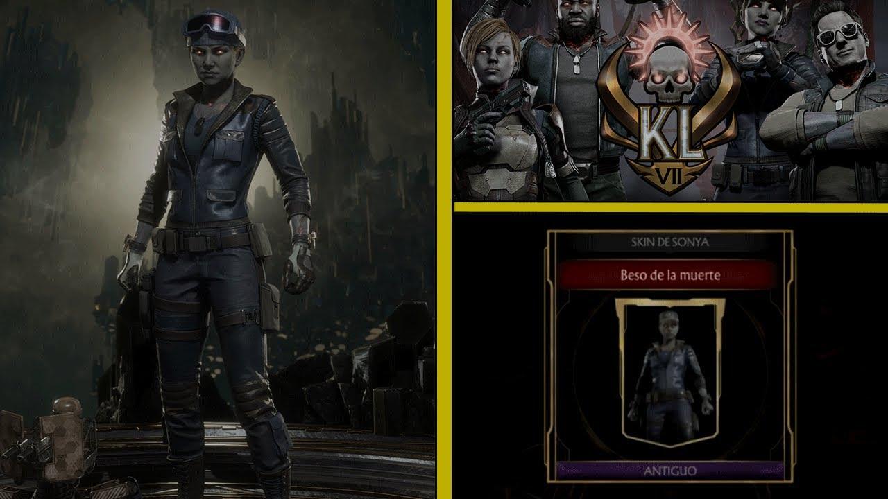 MK11 | Kombat League Skins | Sonya Blade: Beso de la Muerte | Temporada VII