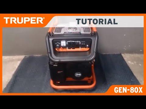 Arranque de encendido del Generador GEN-80X por piola Truper thumbnail