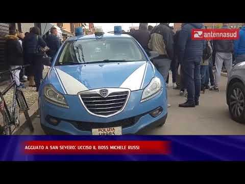24 novembre - agguato a San Severo: ucciso il boss Michele Russi