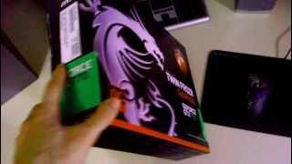 Unboxing / Розпакування відеокарти GeForce GTX 770 OC 2GB DDR5 (256bit) (1098/7010) MSI PCI-Ex