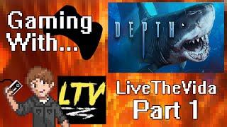 Gaming With LiveTheVida: Depth (PC) Part 1