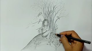 easy cool sketches pencil draw drawing
