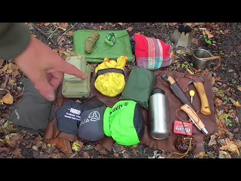 Bushcraft: Kit de base / Sac Frost River Nessmuk pack
