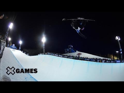 Elena Hight wins Women's Snowboard SuperPipe gold