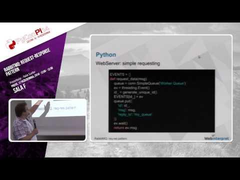 "PyCon PL 2014 ""RabbitMQ: request-response pattern"" [EN]"