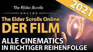 The Elder Scrolls Online (2021) Alle 4K Cinematic Trailer & Intros - Ganzer Film | Gates of Oblivion