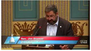 Sen. Stamas pays tribute to the late Sal Rocca