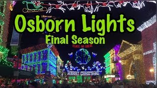Final Year of Osborne Family Spectacle of Dancing Lights at Hollywood Studios
