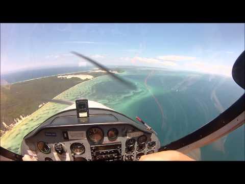 Fun Flying Moreton Island QLD, Tecnam P92E