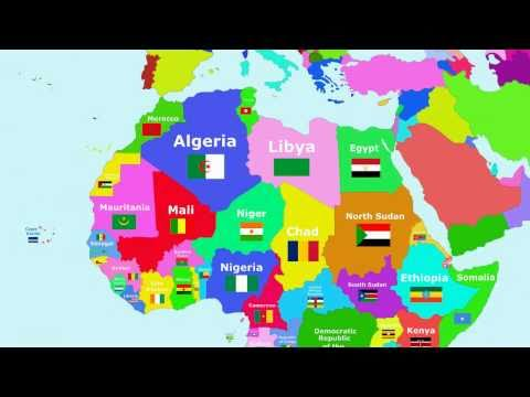 The Countries of the World Song - Africa - YouTube