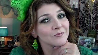 St. Patrick's Day Makeup Collab | Hooded Eyes