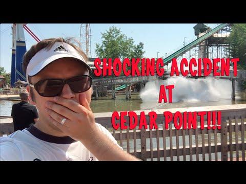 Shocking Accident at Cedar Point on Shoot the Rapids, Amusement Park in Sandusky Ohio