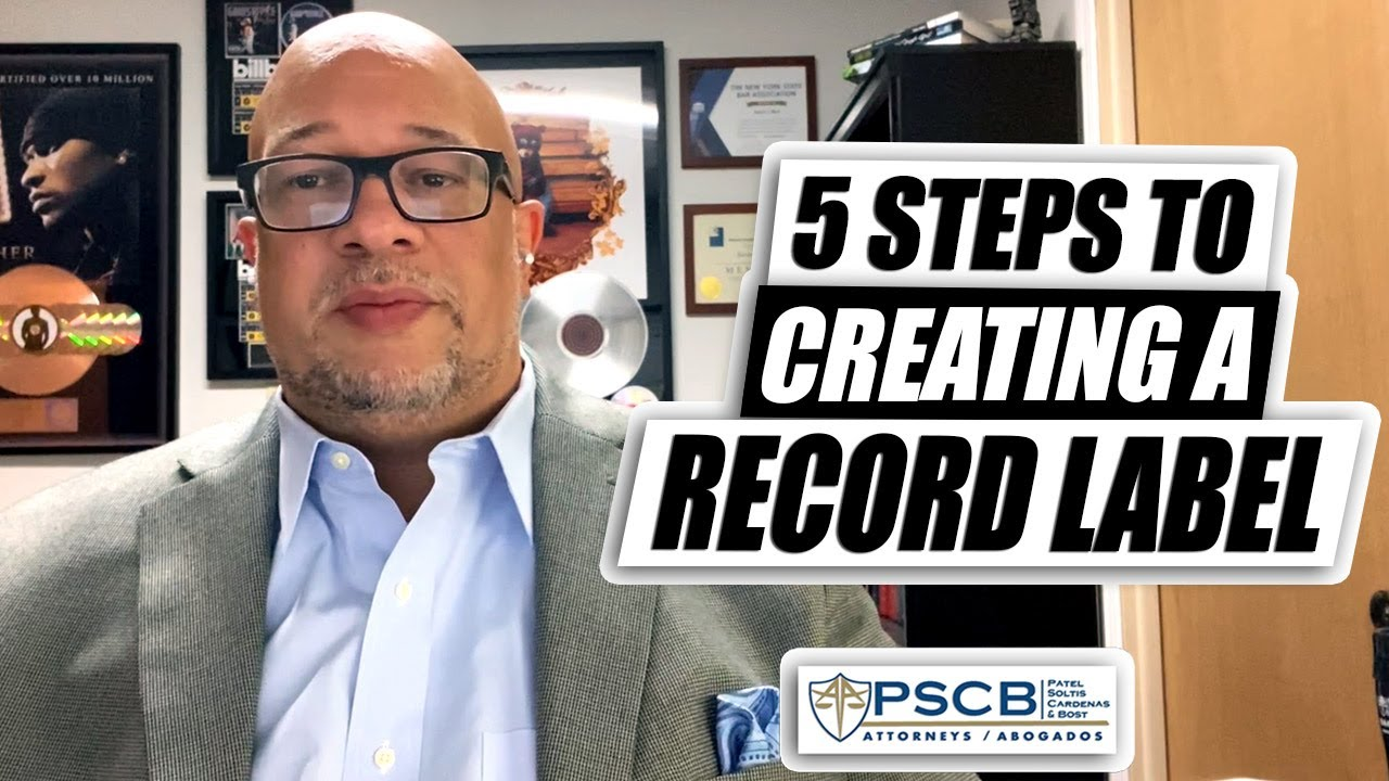 5 Steps to set up your own Record Label...