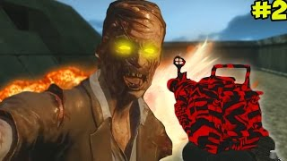 """EPIC EASTER EGG & BUYABLE ENDING!"" - Call of Duty Zombies ""LABYRINTH"" Custom Map #2 (COD Zombies)"