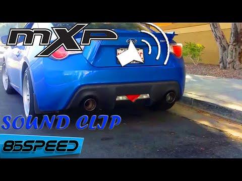 MXP UEL FRS HEADER W/ Competition Racing Series MXP Catback FRS/BRZ