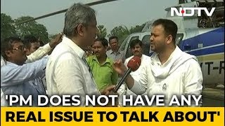PM Modi's Politics Is Made Of Lies: Tejashwi Yadav Tells NDTV's Ravish Kumar