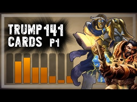 Hearthstone: Trump Cards - 141 - Part 1: Trump Is a Mad Avenger (Paladin Arena)