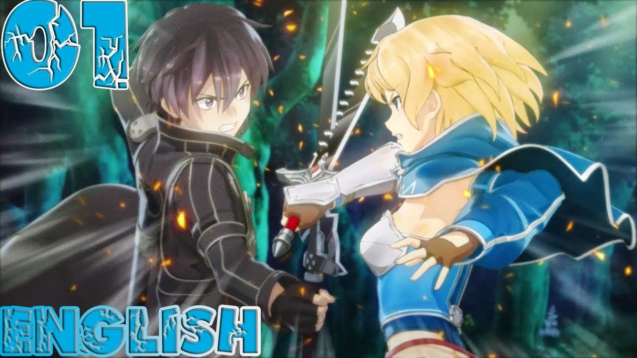 Sword Art Online: Hollow Fragment - Walkthrough Gameplay Part 01 -  English PS Vita No Commentary