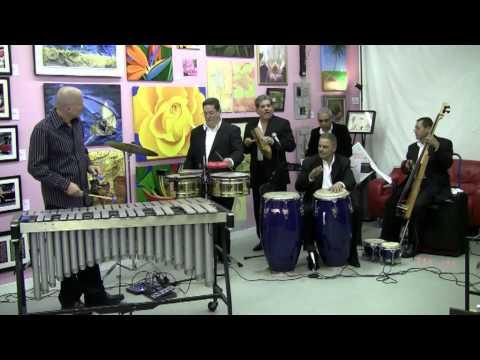 "Soul Sauce - playing ""Mambo Terifico"" by Mongo Santamaria."