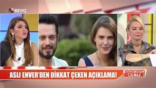 Aslı Enver'e Murat Boz soruldu! İşte cevabı!