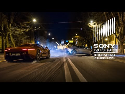 SPECTRE - Rome Vlog - See the Supercars of SPECTRE in Action