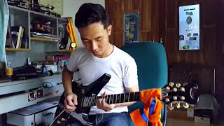A7X_ SEIZE THE DAY SOLO + OUTRO (COVER BY KHARSGUITAR )