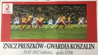 Znicz Pruszków - Gwardia Koszalin ZAPOWIEDŹ