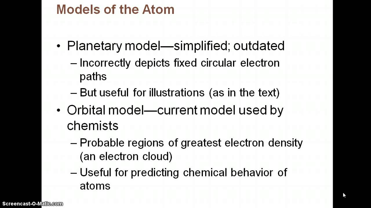Chapter 2 Notes PArt 1: Chemistry Comes Alive - YouTube