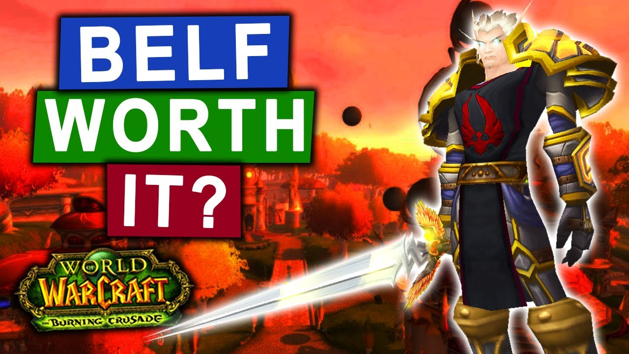 Download Should You Reroll Blood Elf in TBC Classic?