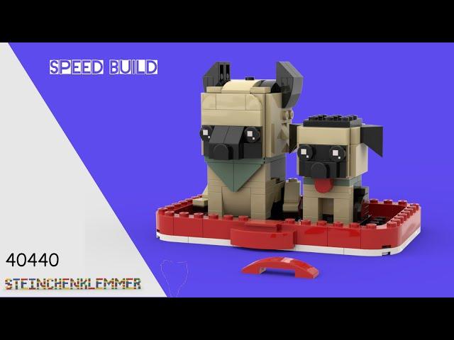 40440 Deutscher Schäferhund | Speed Build