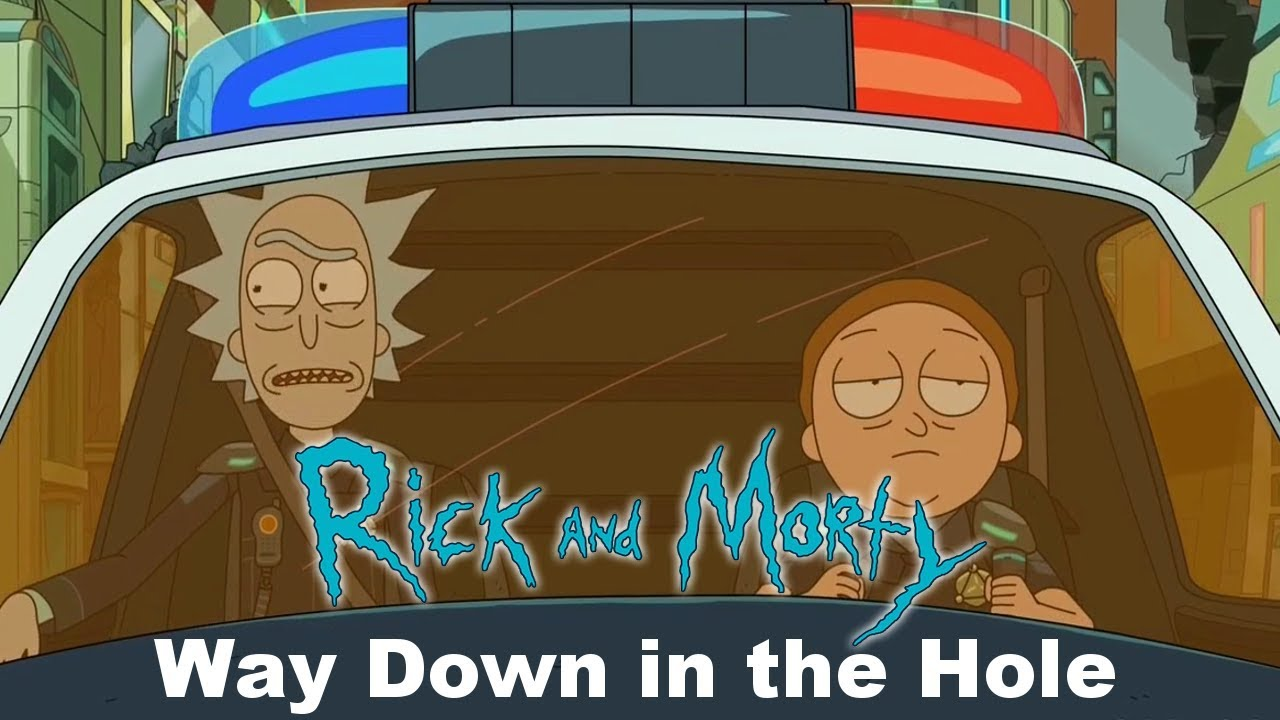 The Wire Way Down In The Hole | Rick And Morty Way Down In The Hole The Wire Opening Youtube