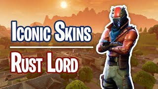 Iconic Skins - Rust Lord - Fortnite Battle Royale
