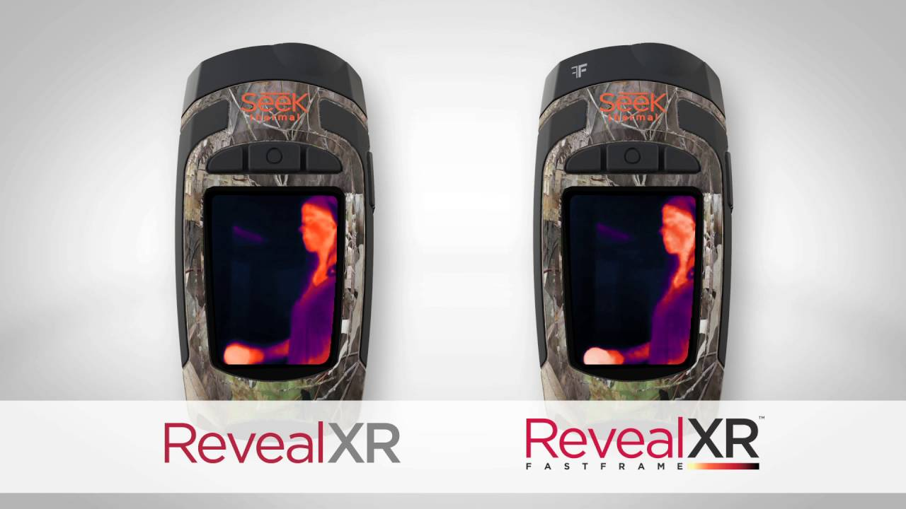 Seek thermal revealxr fastframe thermal imager instrumart youtube for Thermal watches