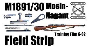 Mosin-Nagant Field Strip (TF 6-02)